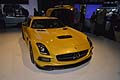Mercedes-Benz SLS AMG Coupé Black Series anteriore al Los Angeles International Auto Show 2012