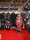 Accessori tute per bikers espisti in Fiera al Motodays