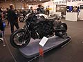 Special moto Yamaha VMAX hyper modified by Abnormal Cycles alla Fiera di Roma per il Motodays 2012