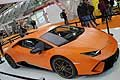 La sportiva Huracan Performante ha un look dinamico abbinato ad un know how tecnologico evoluto