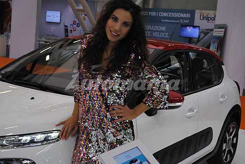 Motor-Show Hostess