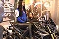 Bike Suzuki GSR e sexy hostess al Motor Bike Expo 2016 di Verona