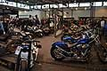 Moto custom Low Ride esposizione al Motor Bike Expo Verona 2016