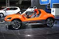 Volkswagen Buggy concept car allo stand VW UP!