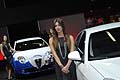 Hostess stand Alfa vicino Alfa Romeo Giulietta 1.4 GPL turbo