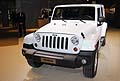 Jeep Wrangler white color il fuoristrada