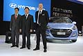 Press Day allo stand Hyundai con i manager del Gruppo coreano