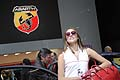 Brand Abarth e Hostess al salone dell´automobile di Bolonga 2011