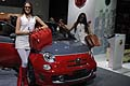 Girls e Abarth 595 turismo in prima mondiale al salone dell´automobile di Bolonga 2011