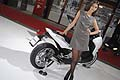 Hostess e scooter Honda al Bologna Motor Show 2011