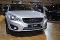 Frontale del Volvo C 30 Full Electric vehicle anteprima italiana al Motor Show