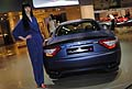 Maserati Grand Turismo S e hostess al Motor Show 2011