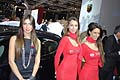 Hostess Alfa Romeo e Bosch al salone dell´automobile di Bologna