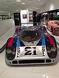 Racing cars Martini Team Racing al Museo Porsche di Stoccarda