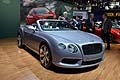 Bentley Continental GTC V8 auto di lusso al Salone di New York