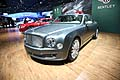 Bentley Mulsanne al Salone di New York 2012
