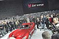 Dodge Viper SRT super sportiva durante il press day al New York Auto Show 2012