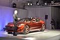 Fisker Atlantic Design Prototype conferenza stampa al salone di New York city 2012