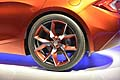 Fisker Atlantic Design Prototype dettaglio ruota posteriore al salone di New York 2012