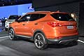 Hyundai Santa Fe orange al New York Auto Show 2012