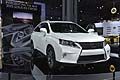 Lexus RX FSport anteriore al salone di New York 2012
