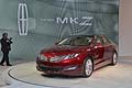 The new Lincoln MKZ cars al Salone di New York 2012