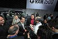 Stand RAM al New York Autoshow 2012 con interviste Fred Diaz nel press day