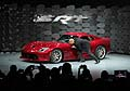 SRT Brand and Motorsports at the President and CEO Ralph Gilles kisses his pride and joy the 2013 SRT Viper GTS at the New York 2012