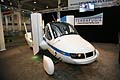Terrafugia Flying Car street mode al New York Auto Show 2012