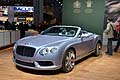 New Benlety Continental GTC V8 cabriolet al Salone di New York 2012