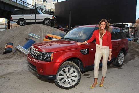 Land Rover - Land Rover celebrated 25 years in North America during the 2012 New York Auto Show in New York City. TV personality Kelly Bensimon was on hand at the celebratory event.