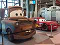 Disney «Cars 2» - pick-up artist «Mater» e la supercar «Lightning McQueen» red