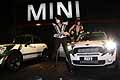 Mini Countryman con la Rock band Kiss