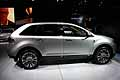 lincoln mkx vista laterale
