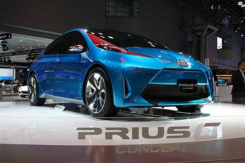 Toyota - Toyota Prius-C Hybrid Concept Car al New York International Auto Show
