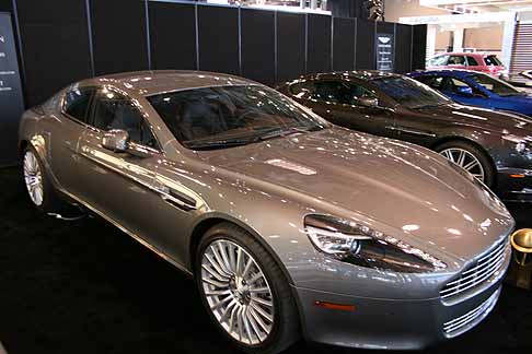 "Aston Martin - Aston Martin Rapide vincitrice del premio ""2011 World Car Design of the Year"""