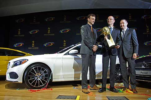 World Car Awards - 2015 World Car of the Year Mercedes-Benz C Class winner