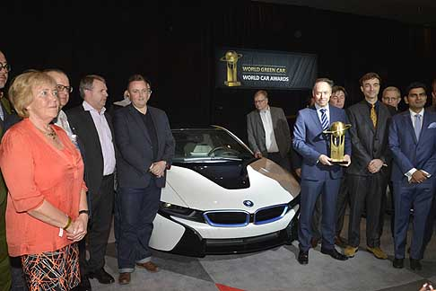 World Car Awards - Per il segmento auto ecologiche, una giuria di esperti ha nominato World Green Car of the Year la BMW i8