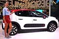 Citroen C3 e hostess al Parigi Motor Show 2016