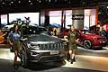 Jeep Grand Cherokee Trailhawk in anteprima europea al Salone Internazionale di Parigi 2016