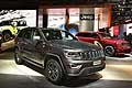 Jeep Grand Cherokee Trailhawk grande suv a Parigi 2016