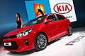 Kia Rio berlina al Salone dell´Automobile di Parigi 2016