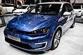 Volkswagen Golf E al Salone di Parigi 2016 - photo Bitton