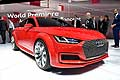Audi Sportback red Salone di Parigi 2014