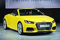 Audi TTS yellow future mobile all'International Motor Show of Paris 2014