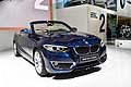 BMW Serie 2 Convertible active tourer al Salone di Parigi 2014