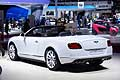 Bentley GT V8S Convertible retrotreno al Parigi Motor Show 2014