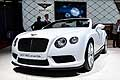 Bentley GT V8S Convertible all'International Auto Show di Parigi 2014