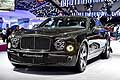 Bentley Mulsanne Speed calandra al Parigi Motor Show 2014