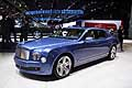 Bentley Mulsanne luxury car at the Paris Motor Show 2014